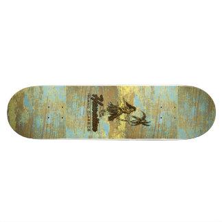 Madera hawaiana de la cabaña de la resaca falsa tablas de patinar