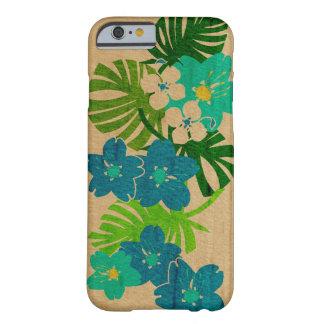 Madera hawaiana del jardín de Limahuli falsa Funda Para iPhone 6 Barely There