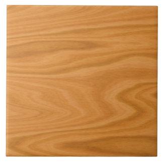 Madera marrón clara azulejo cuadrado grande