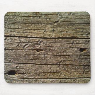 madera marrón del árbol alfombrilla de ratón