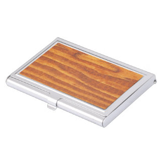madera cajas de tarjetas de visita