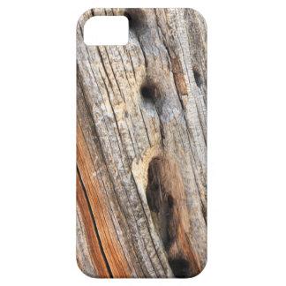 Madera resistida iPhone 5 Case-Mate cárcasa