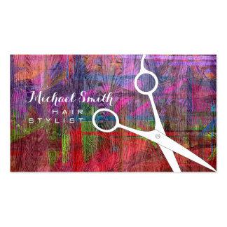 Madera retra moderna elegante #9 del color del tarjetas de visita