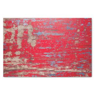 Madera roja del vintage papel de seda pequeño