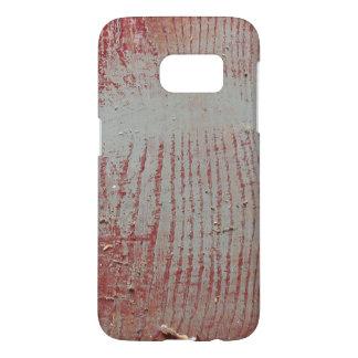 Madera roja gastada del granero de Iowa Funda Samsung Galaxy S7