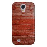 Madera roja vieja
