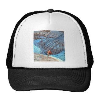 Madera rota en colección del barranco azul gorras de camionero