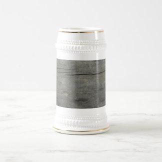 Madera rústica jarra de cerveza