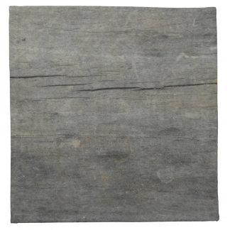 Madera rústica servilleta de papel