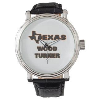 Madera Turner de Tejas Relojes