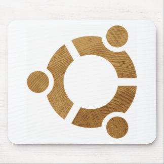 Madera Ubuntu Logotipo - Linus