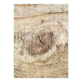 """madera vieja invitación 5.5"""" x 7.5"""""""