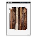 madera vieja iPad 3 pegatinas skins