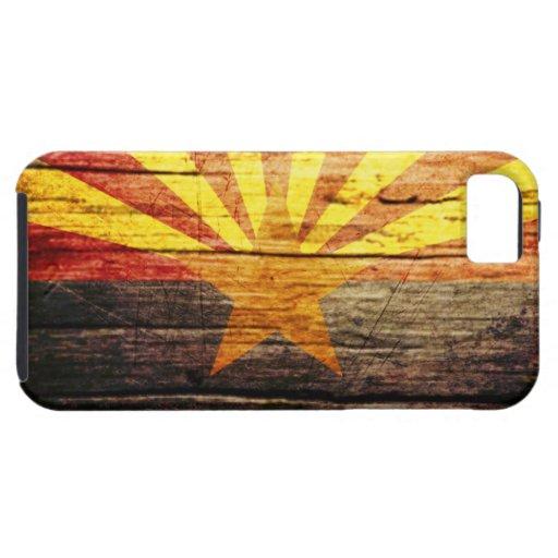 Madera vieja rústica de Arizona Funda Para iPhone 5 Tough