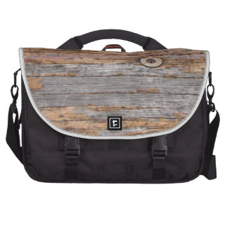 Madera y clavos rústicos bolsas para portatil