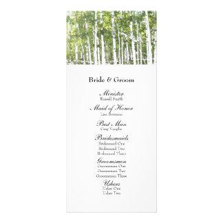 Maderas blancas verdes del verano que casan progra plantilla de lona