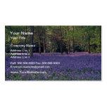 Maderas del Bluebell, flores de Inglaterra Tarjetas Personales