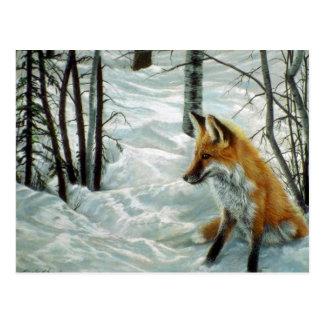 Maderas del invierno, Fox Tarjeta Postal