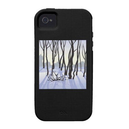 Maderas del invierno iPhone 4/4S funda