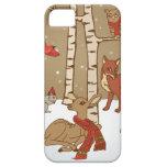 Maderas del invierno iPhone 5 Case-Mate fundas