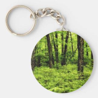Maderas enormes del verano llavero redondo tipo pin