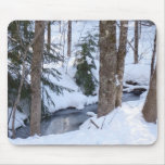 Maderas nevadas tapetes de raton