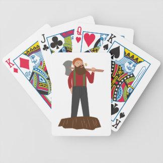 Maderero Cartas De Juego