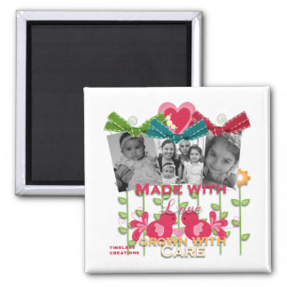 madewith love 2 inch square magnet