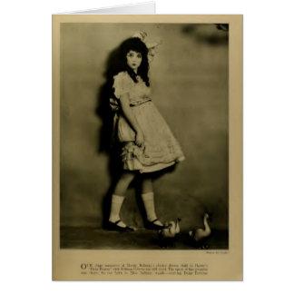Madge Bellamy 1923 vintage portrait Greeting Card