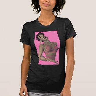 Madge loves her new pink bra T-Shirt