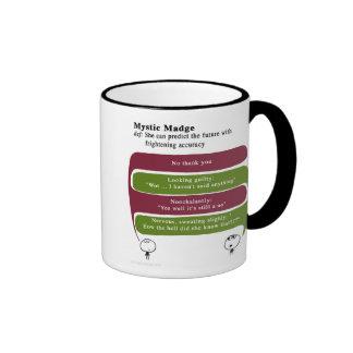 Madge místico taza de dos colores