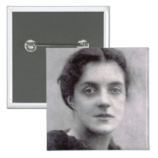 Madge Vaughan 2 Inch Square Button