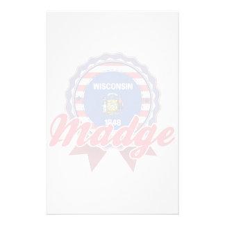 Madge, WI Custom Stationery