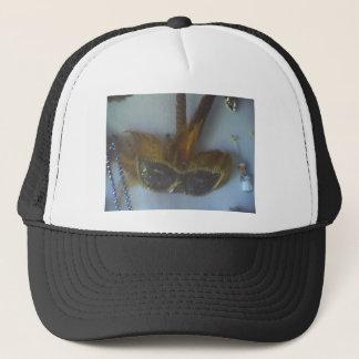madi gras masks 1 trucker hat