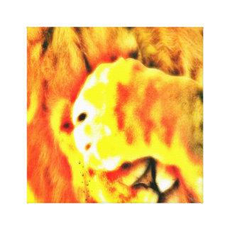 MADIBA LION KING CANVAS PRINT
