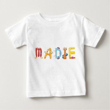 Beach Themed Madie Baby T-Shirt
