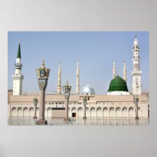 Madina Masjid Póster