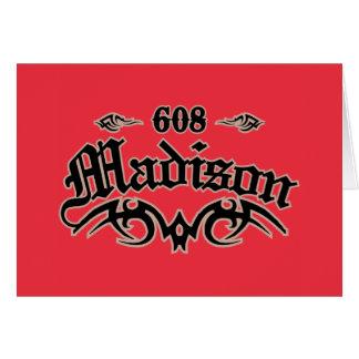 Madison 608 card