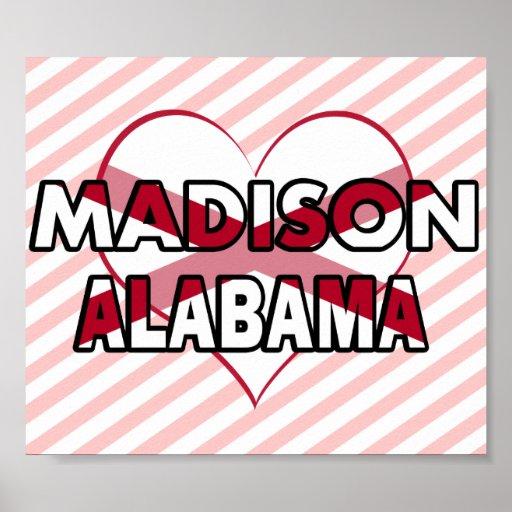 Madison, Alabama Poster