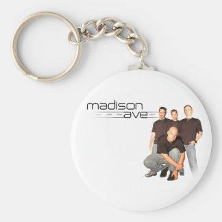 Madison Ave Keychain