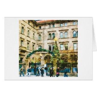 Madison Avenue New York City Holiday Card