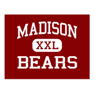 Madison - Bears - Junior - Madison Indiana Postcard