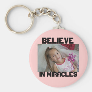 Madison Believe, BELIEVE, IN MIRACLES Keychain