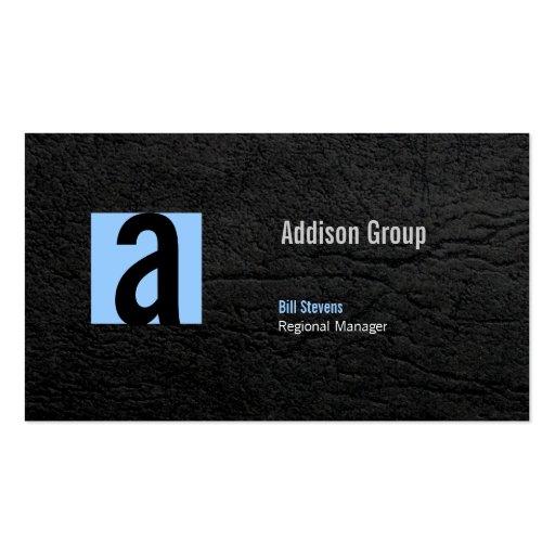 Madison Black III Business Card