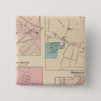 Madison, Bordentown, NJ Pinback Button