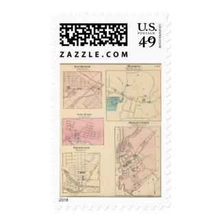 Madison, Bordentown, NJ Stamp