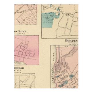 Madison, Bordentown, NJ Tarjetas Postales