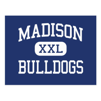 Madison Bulldogs Middle North Hollywood Postcard