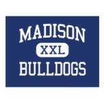 Madison Bulldogs Middle North Platte Postcard