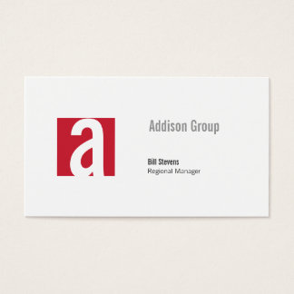Madison Business Card